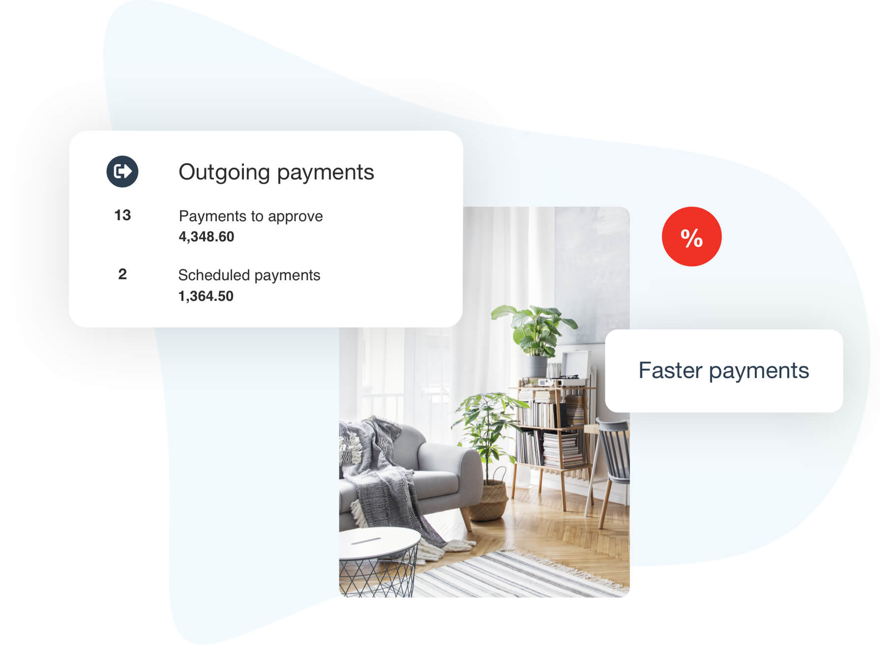 Automated outgoing payments feature